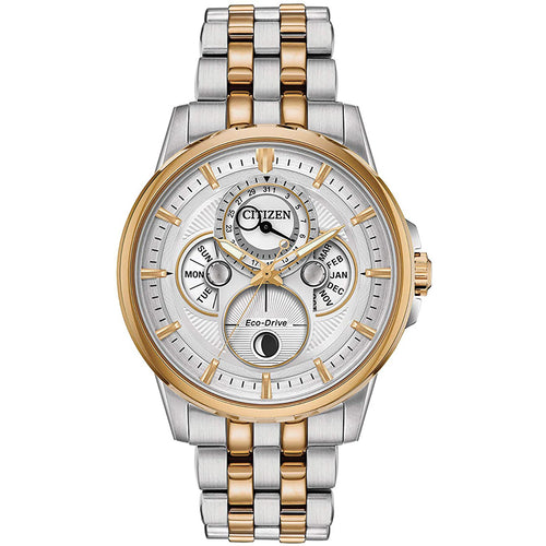 Citizen Calendrier Moonphase Men's Eco-Drive Watch | BU0056-57A