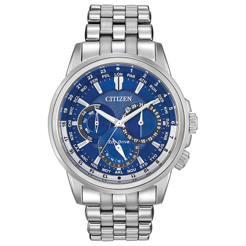 Citizen Eco-Drive Calendrier Blue Dial