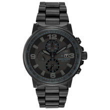 Load image into Gallery viewer, Citizen Men's Nighthawk Eco-Drive Blackout Watch | CA0295-58E
