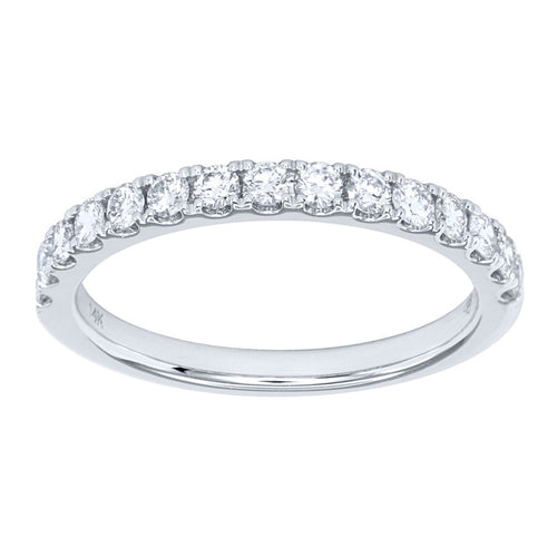 14K White Gold Diamond Anniversary Band (0.50 ct tw)