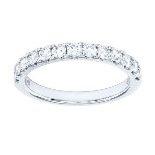 14K White Gold Diamond Anniversary Band (0.75 ct tw)