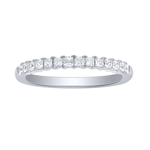 14K White Gold Diamond Anniversary Ring (0.33ct tw)