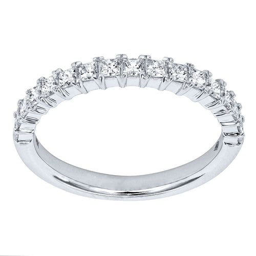 Diamond Anniversary Band in 14K White Gold (0.50ct tw)