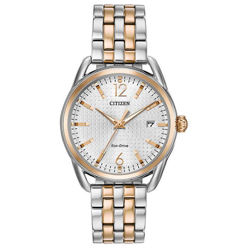 Citizen Drive Two-Tone Stainless Steel Eco-Drive Watch | FE6086-74A