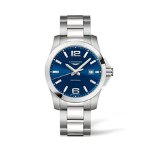 Load image into Gallery viewer, Longines Conquest Men's Quartz Watch 41mm | L3.759.4.96.6