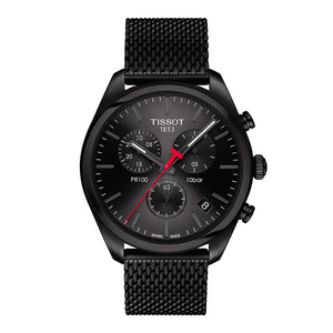 Tissot PR 100 Chronograph - Official watch of the Toronto Raptors | T101.417.33.051.00