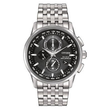 Load image into Gallery viewer, Citizen Men's World Chronograph A-T Eco-Drive Watch | AT8110-53E