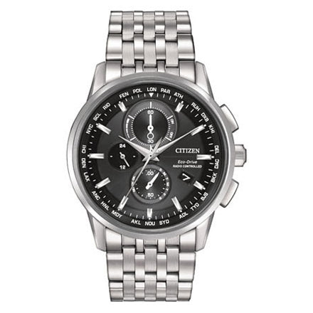 Citizen Men's World Chronograph A-T Eco-Drive Watch