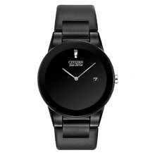 Load image into Gallery viewer, Citizen Men's Axiom Black Leather Strap Watch | AU1065-07E