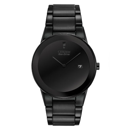 Citizen Men's Axiom Eco-Drive Black Dial Watch