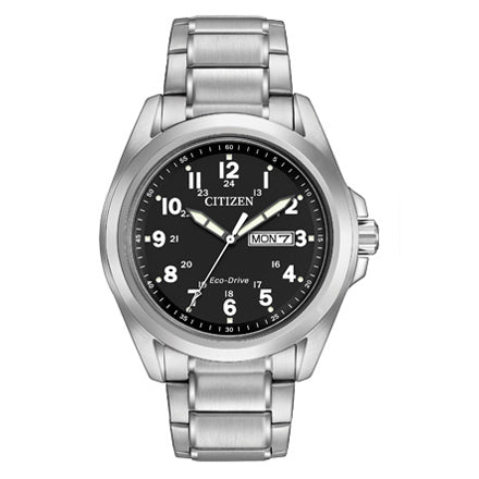 Citizen Men's Chandler Black Dial Watch