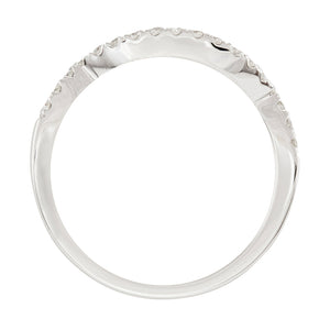 Matching Diamond Wedding Band in 10K White Gold (0.20ct tw)