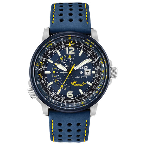 Citizen Men's Promaster Blue Angels Nighthawk Blue Dial Watch