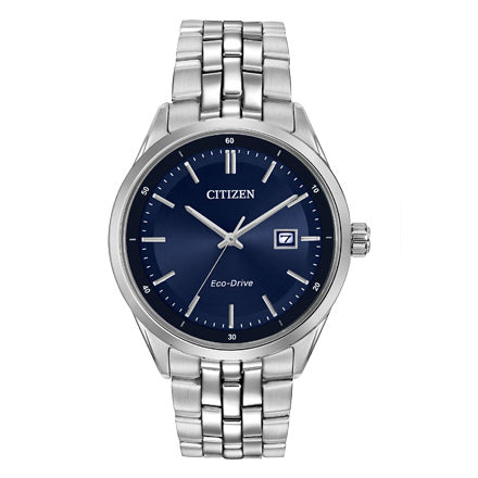Citizen Men's Corso Eco-Drive Blue Dial Watch