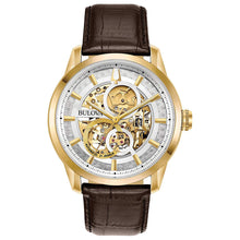 Load image into Gallery viewer, Bulova Men's Sutton Automatic Skeleton Dial | 97A138