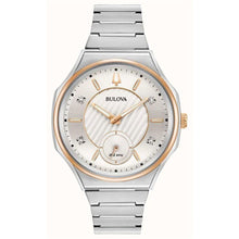 Load image into Gallery viewer, Bulova Women's Curv Watch In Two Tone Stainless Steel | 98P182