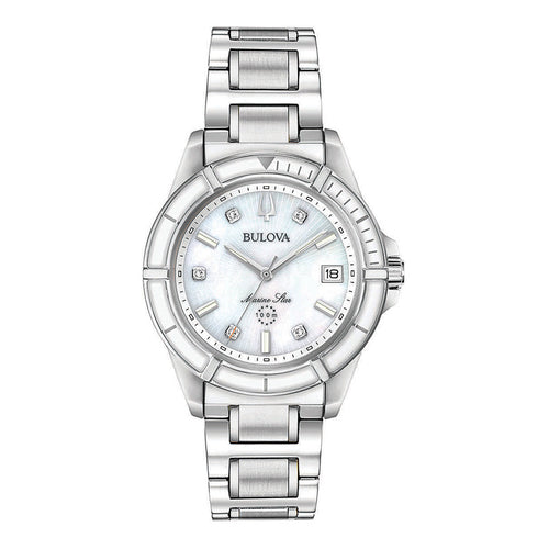Women's Marine Star Watch Mother Of Pearl Dial | 96P201