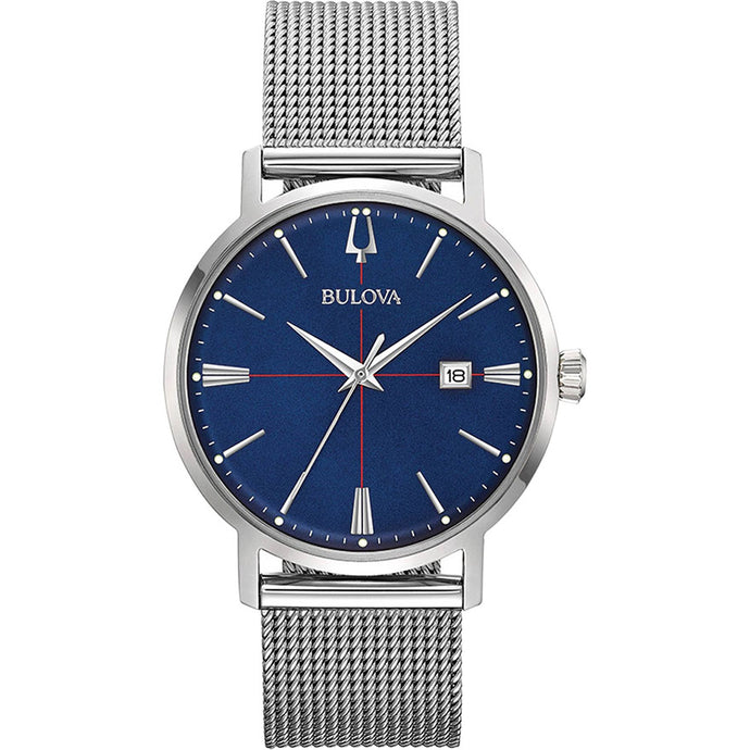 Bulova Men's Classic Aerojet Watch With Blue Dial