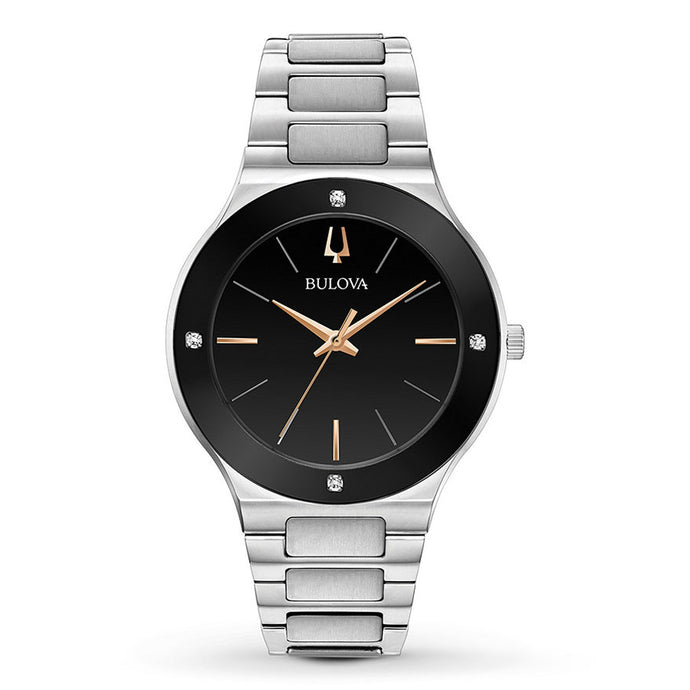 Bulova Mens Futuro Watch In Black Dial