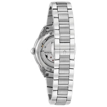 Load image into Gallery viewer, Bulova Women's Automatic Stainless Steel Hand Set Diamond Watch | 96P181