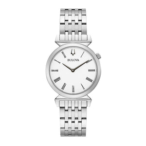 Bulova Women's Regatta In White Dial | 96L275