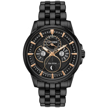 Load image into Gallery viewer, Citizen Calendrier Men's Eco-Drive Watch In Black | BU0057-54E