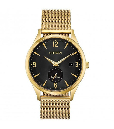 Citizen Drive With Gold Tone Stainless Steel Milanese Mesh Bracelet