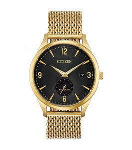 Citizen Drive With Gold Tone Stainless Steel Milanese Mesh Bracelet | BV1112-56E