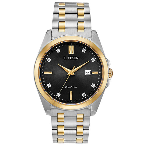 Citizen Men's Corso Two Tone Eco-Drive Watch