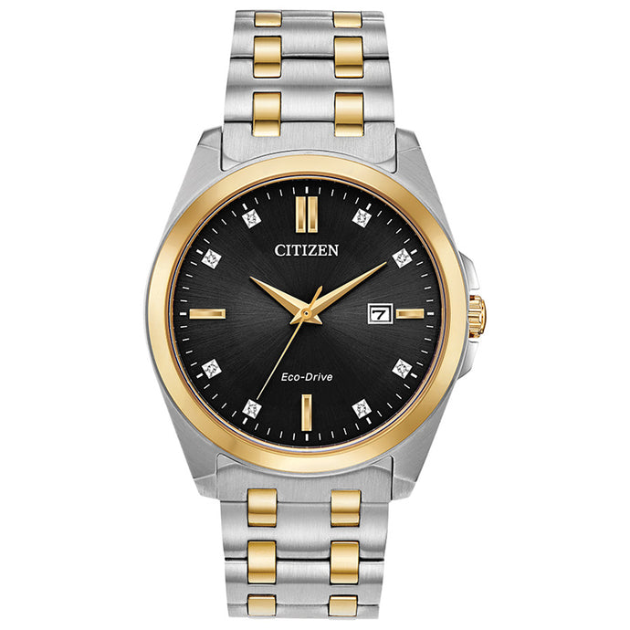Citizen Men's Corso Two Tone Eco-Drive Watch | BM7107-50E