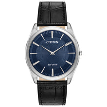 Load image into Gallery viewer, Citizen Men's Stiletto Eco-Drive Watch With Blue Dial