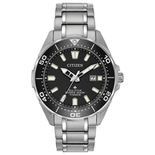 Load image into Gallery viewer, Citizen Men's Titanium Promaster Diver Eco-Drive Watch | BN0200-56E