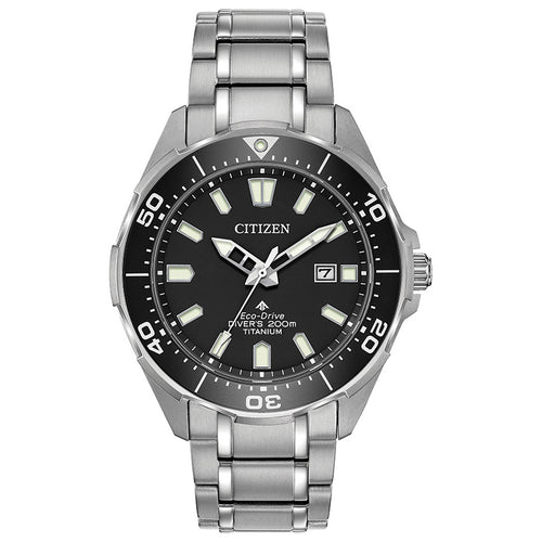 Citizen Men's Titanium Promaster Diver Eco-Drive Watch