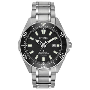 Citizen Men's Titanium Promaster Diver Eco-Drive Watch | BN0200-56E