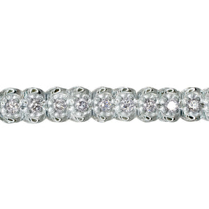 Classic 2.00 Carat Diamond Tennis Bracelet in 10K White Gold (2.00ct tw)