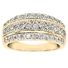 Load image into Gallery viewer, Diamond Statement Ring in 10K Yellow Gold (1.00ct tw)
