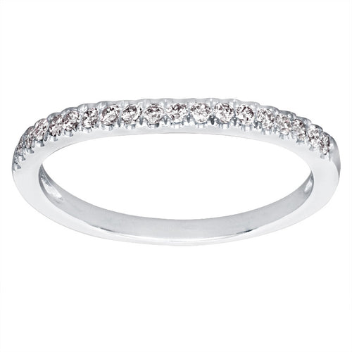 Matching Diamond Wedding Band in 14K White Gold (0.18ct tw)