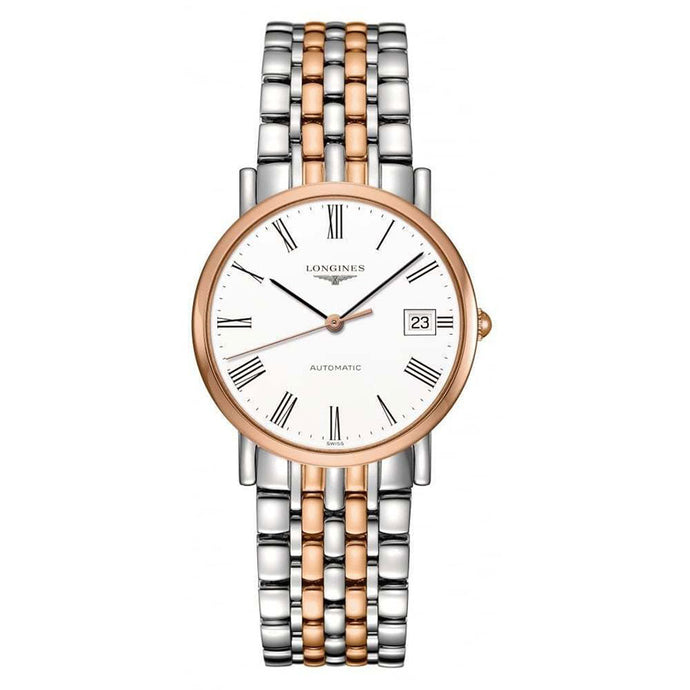 Longines Elegant Automatic White Dial Ladies Watch | L4.809.5.11.7