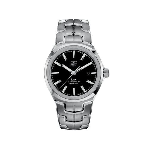TAG Heuer Link Calibre 5 Automatic With Black Dial | WBC2110.BA0603