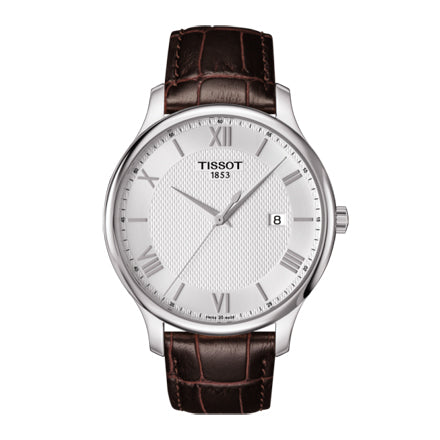 Tissot Men's Tradition Analog Display Quartz Brown Watch