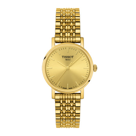 Tissot T-Classic Champagne Dial Ladies Watch