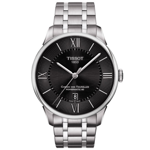 Tissot Chemin Des Tourelles Powermatic 80 Black Dial
