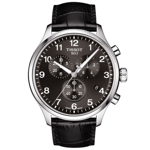 Tissot Chrono XL Classic Black Leather