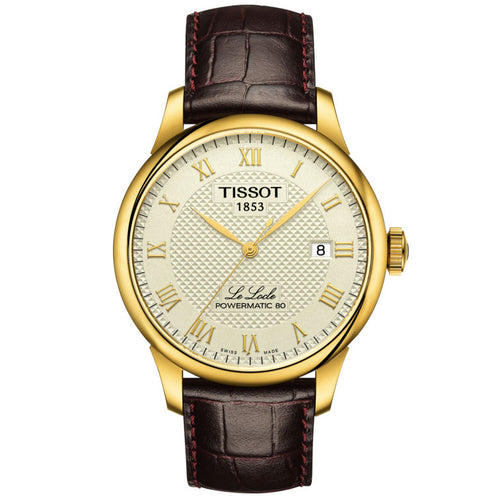 Tissot Le Locle Powermatic 80 Gold-Tone