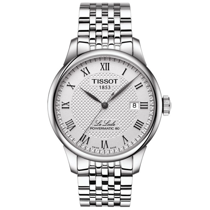 Tissot Le Locle Powermatic 80 Silver Dial | T006.407.11.033.00