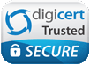 Digicert secured shopping logo