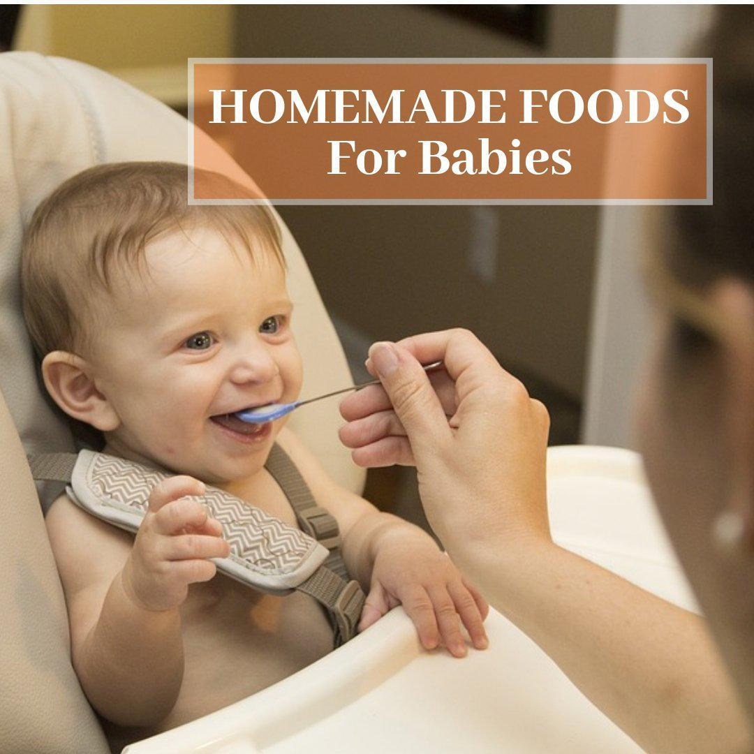 Homemade Foods For Babies