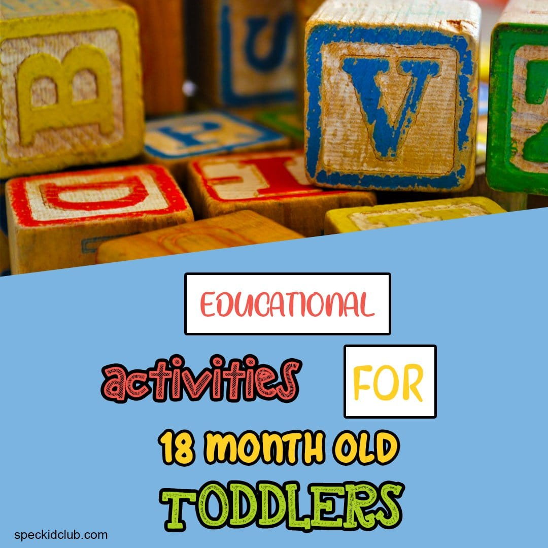 Educational Activities for 18 Month Old Toddlers