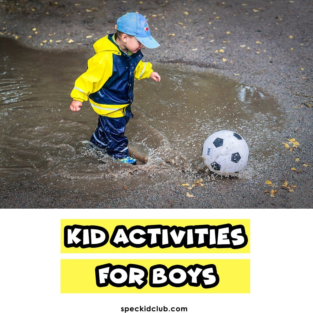 Kid Activities For Boys