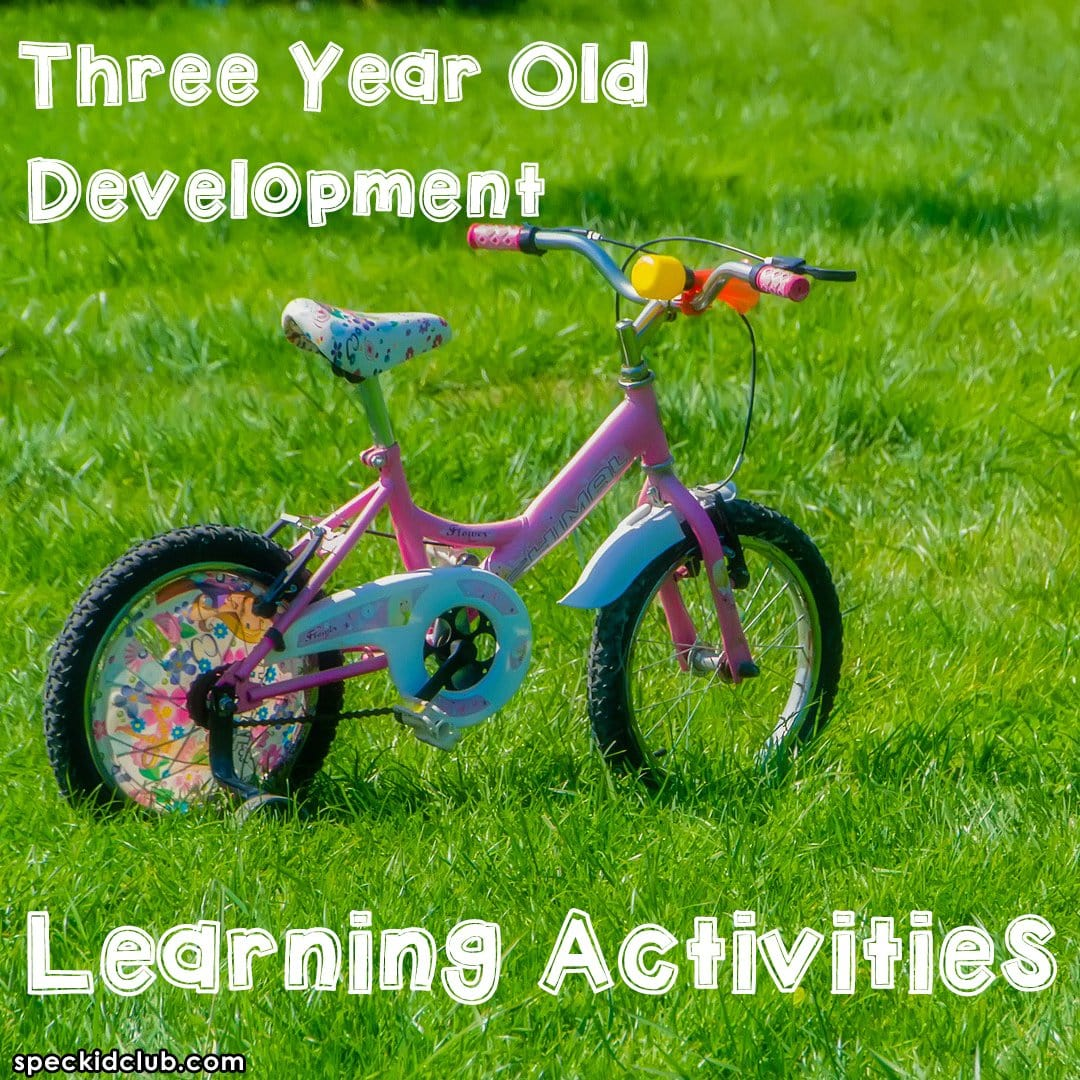 Three Year Old Development Learning Activities
